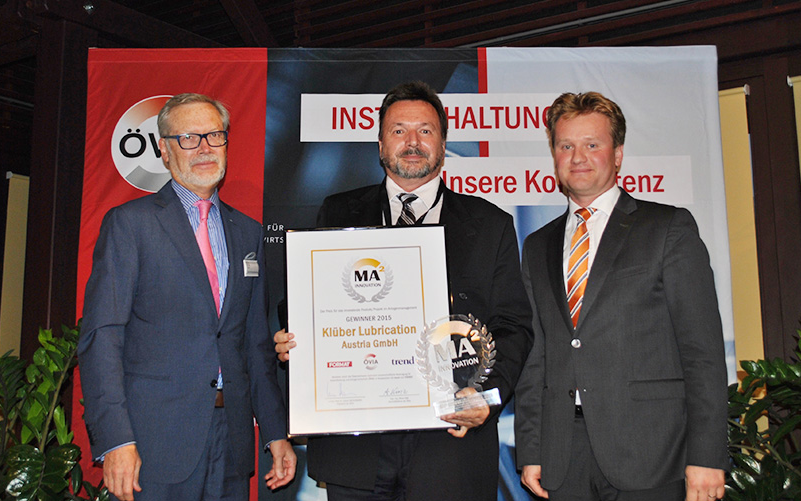Innovation Award 2015: Klüber Lubrication